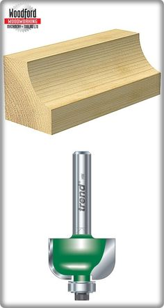 Ideally suited for cutting radiused edges at speed, as a side fence can be dispensed with...Self-guided #Radius #Cutter 7.9mm (http://www.woodfordtooling.com/craftpro-router-cutters/radius-and-cavetto/self-guided-radius-cutters/self-guided-radius-7-9mm.html)