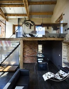 Nature-inspired loft space