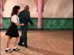 Swing- Lindy Hop Dance lessons level 1 Taught by the king of Lindy Hop, Fankie Manning