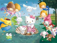 Hello Kitty and Friends:)