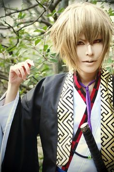 Chikage Kazama (Hakuouki Shinsengumi no Kitan) this is a beautiful cosplay