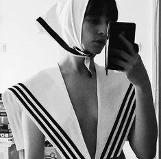 Organic cotton Sailor Collar, Organic Cotton, Fashion, Moda, Fashion Styles, Fashion Illustrations