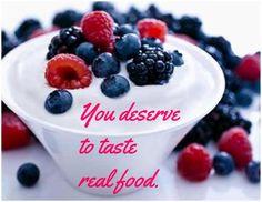 my favorite non-meat sources of protein: Greek yogurt.