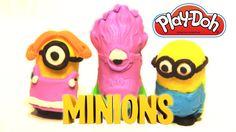 Play Doh Makin' Mayhem Set 🍌 Despicable Me Minions Stuart Kevin Bob toys for kids unboxing My Minion, Minions, Rainbow Toys, Play Sets, Despicable Me, Play Doh, Kids Toys, Bob, Disney Princess