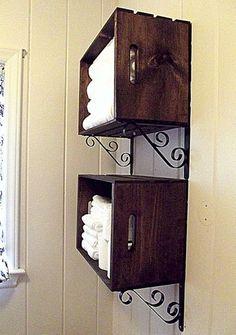 DIY Wall Storage.