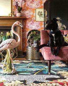Interior Design For Living Room Art Deco, Home Interior, Interior Design, Painting Ikea Furniture, Maximalist Interior, Estilo Tropical, Lounge Decor, Eclectic Decor, Eclectic Design