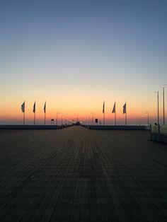 Stunning sunrise on the coast! 😍 #sopot