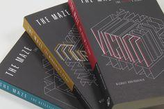 THE MAZE // Book Covers by Yuya Yoshida, via Behance