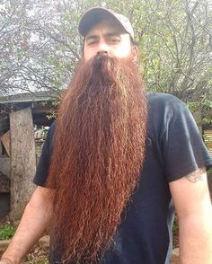 now that's a beard I️ wanna fondle Badass Beard, Epic Beard, Full Beard, Red Beard, Ginger Beard, Hairy Men, Bearded Men, Hair And Beard Styles, Long Hair Styles