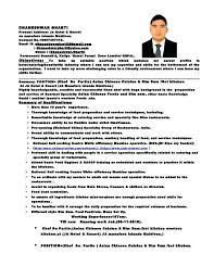 Image Result For Resume Of Chef De Partie Image Resume Chef