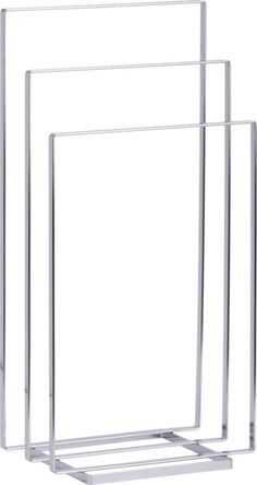 Chrome Towel Rack