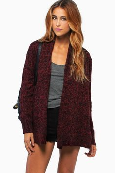 Maddison Sweater Cardigan $68 http://www.tobi.com/product/53120-tobi-maddison-sweater-cardigan?color_id=72495