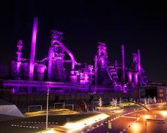 Bethlehem Steel at Night
