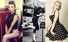 Pin up, sua linda! Bettie Page, Estilo Pin Up, Glamour, Burlesque, Fashion Beauty, Fashion Hair, Ideias Fashion, Bodycon Dress, Plus Size