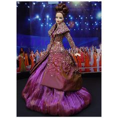 Ninimomo's Barbie Miss Corsica (dress Dior) Barbie Miss, Barbie And Ken, Christian Dior, Miss Pageant, Diva Dolls, Dolls Dolls, Beautiful Barbie Dolls, Pageant Gowns, Barbie Collection