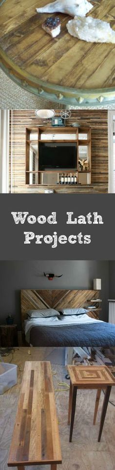 Wood Lath Projects