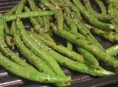 Grilled Green Beans
