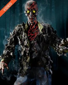 Find spooktacular deals on Halloween Animatronics that'll make Halloween 2020 one for the record books. No one does Halloween better than Spirit. Zombie Halloween Party, Halloween Wishes, Halloween Horror, Halloween Costumes, Halloween Stuff, Haunted Halloween, Spirit Halloween Animatronics, Zombie Decorations, Horror Merch