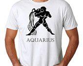 Zodiac signs, Shirt Aquarius, Men Shirt, Birthday, Father Day,Horoscope
