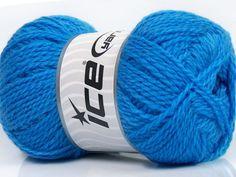 Fiber Content 60% Virgin Wool 40% Acrylic Brand Ice Yarns Blue fnt2-43534