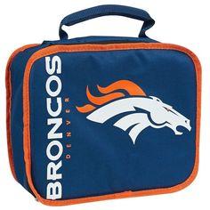 Denver Broncos NFL Sacked Lunch Cooler. Visit SportsFansPlus.com for Details.