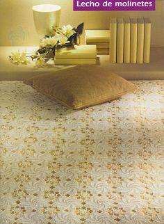 🌸 Colcha Renda Crochê -  /  🌸 Bedspread Lace Crochet  -