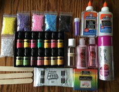 Sale DIY SLIME KIT  Recipe  pick your own scent
