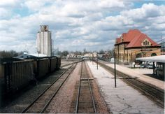 Creston Iowa - Okay, you know that you can find anything on Pinterest when you can find a pin of the old train station in Creston, IA.  I <3 this little town.