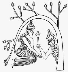 Eanna and Dumuzi create the Tree of Life
