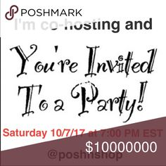 Excited to be invited to Co-Host again. Excited to be invited to Co-Host again.  Spread the word, please invite all your friends, they're invited too.                                                     THEME: TBD                                                        DATE: Saturday 10/7 at 7:00 PM EST lululemon athletica Accessories