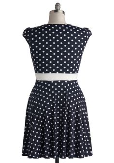 The Story of Citrus Dress in Navy - Plus Size, #ModCloth