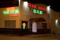 Mac's Club Deuce Miami. BEST. DIVE. BAR. EVER.