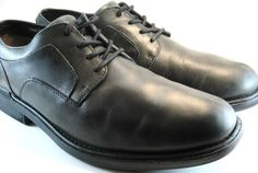 Timberland Men Leather Oxford Shoes Size 11.5 M Brown.   #Timberland #Oxfords