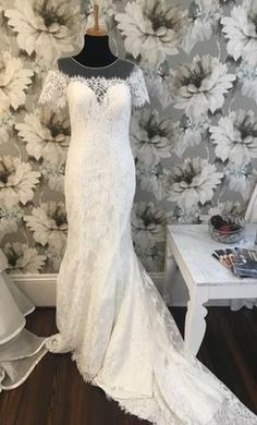 Madison James 166 wedding dress currently for sale at 71% off retail.