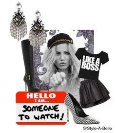 Watch me!!! #Camerondiaz #Collage #Fashion #Style