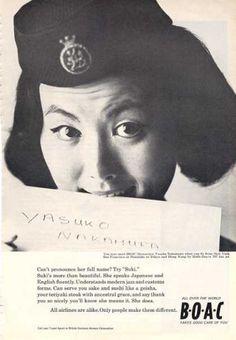 Boac British Overseas Airways Stewardess (1964)