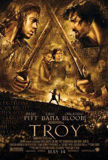 TROY.  Director: Wolfgang Petersen.  Year: 2004.  Cast: Brad Pitt, Eric Bana, Orlando Bloom, Julian Glover