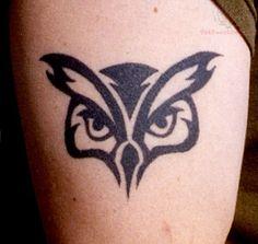 simple owl tattoo - Google Search