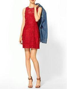Nanette Lepore Treasure Dress   Piperlime
