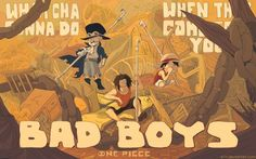 Sabo Ace Luffy 8x