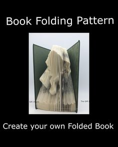 Folded Book Art Pattern   Humpty Dumpty  Pattern by TheGiftLibrary