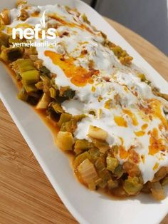 Pırasa Kavurması - Nefis Yemek Tarifleri - - Fırın yemekleri - Las recetas más prácticas y fáciles Healthy Meals For Kids, Healthy Baking, Kids Meals, Best Breakfast Recipes, Breakfast For Kids, Healthy Recipe Videos, Healthy Recipes, Leek Recipes, Delicious Recipes