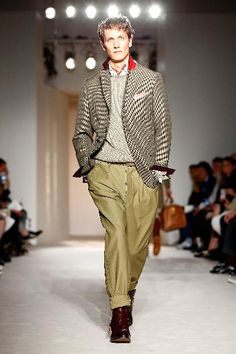 dunhill - Runway - London Collections Men Spring 2016 in London, England.