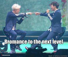 Bromance Level: Kaichen? Chenkai? Jong Squared? I don't know...
