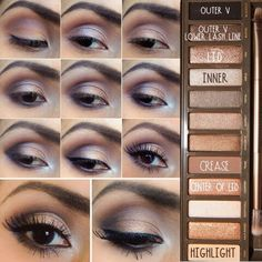 Naked 2 pallet tutorial