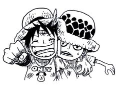 Luffy and Law!