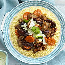 Moroccan lamb, carrot and date tagine - 12 propoints Ww Recipes, Slow Cooker Recipes, Healthy Recipes, Delicious Recipes, Slow Cooked Moroccan Lamb, Carrots And Dates, Tagine Recipes, Recipe Today, Kitchens