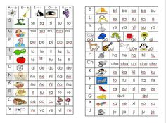 Tabla de abecedario ilustrado - http://materialeducativo.org/tabla-de-abecedario-ilustrado/