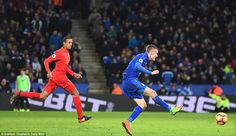 Leicester City 3-1 Liverpool: Jamie Vardy brace seals win #dailymail