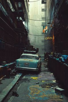 ArtStation - Brooklyn 60's, James O'Brien (Vadim Ignatiev)